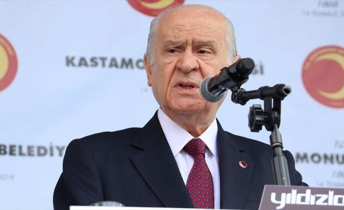 MHP Genel Başkanı Bahçeli: Hangi dönem huzur yüzü gördük?