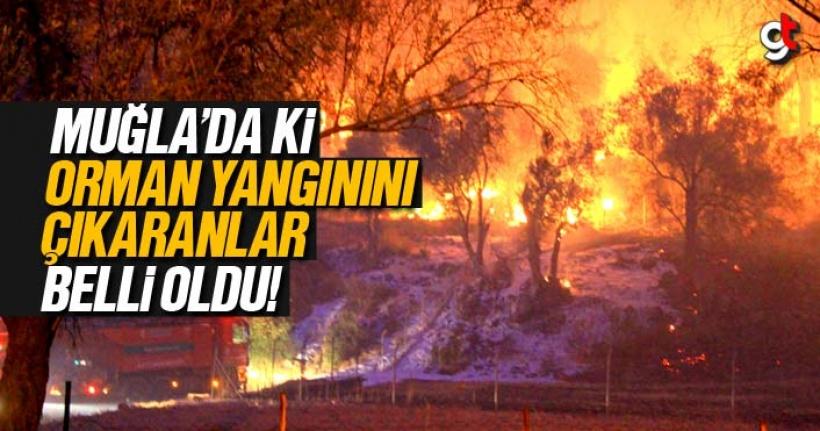 Muğla'da ki orman yangınını PKK'lı teröristler çıkardı