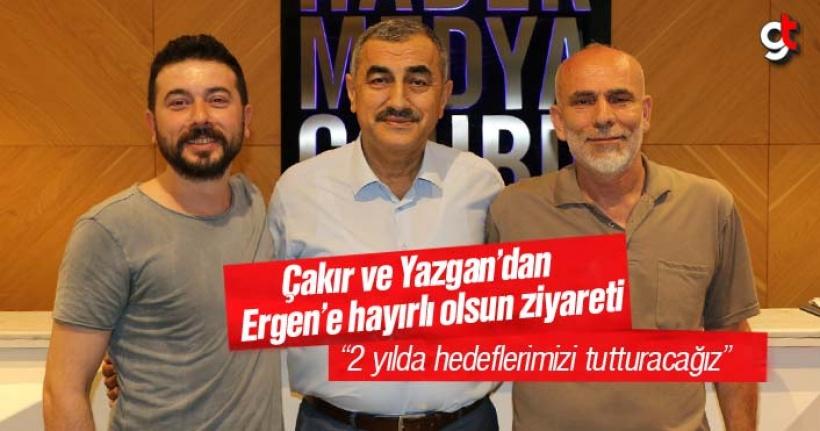 Okan Çakır ve Recep Yazgan'dan Ali Yılmaz Ergen'e hayırlı olsun ziyareti
