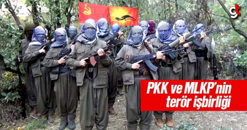 PKK ve MLKP teröristleri beraber hareket ediyor
