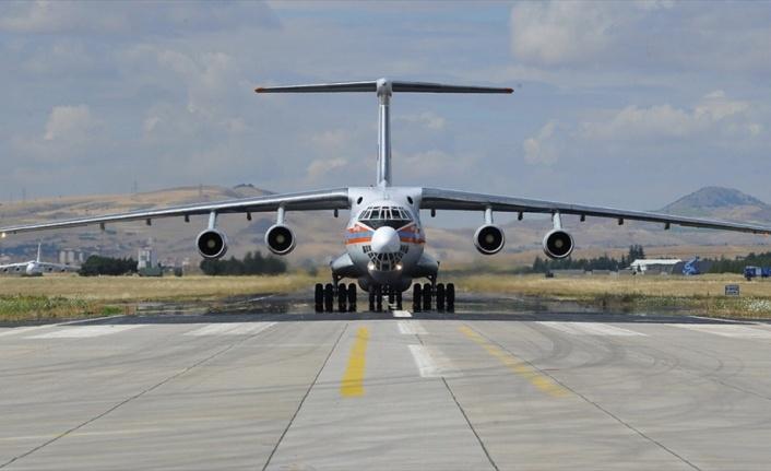 S-400 sevkiyatı kapsamında 5. uçak Mürted'e indi