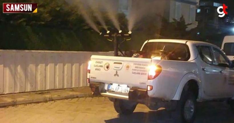 Samsun'da haşerelere savaş açıldı