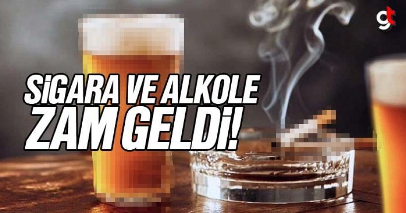 Sigara ve içkiye zam geldi, Yeni sigara ve alkol fiyatları