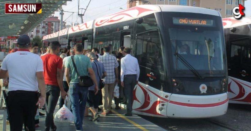 Tramvaylar OMÜ, Fakülte, Yurtlar servisine başladı