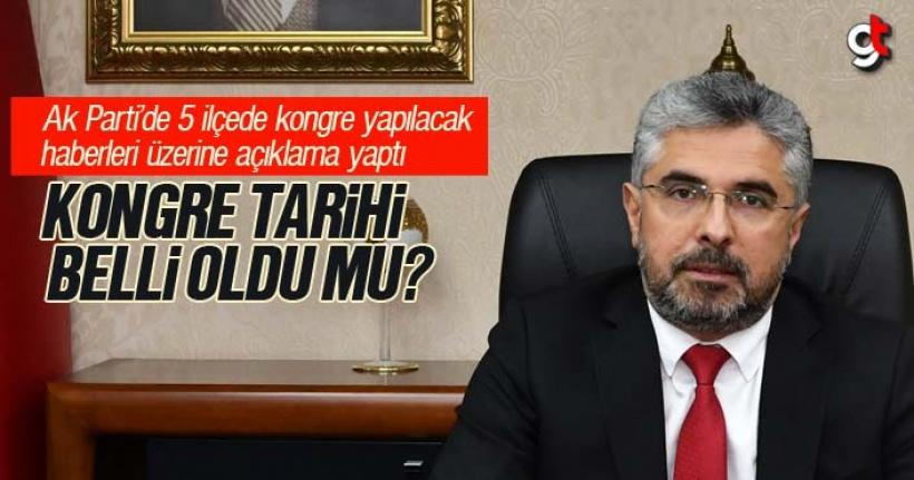AK Parti'de 5 ilçe teşkilatı görevden alınacak mı? Ersan Aksu açıklama yaptı
