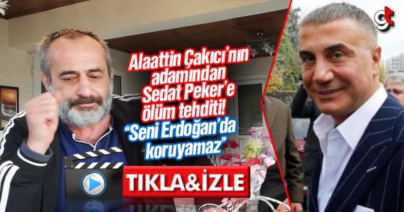 Alaattin Çakıcı'nın adamı Ömer Korkmaz, Sedat Peker'i ölümle tehdit etti Video Haber