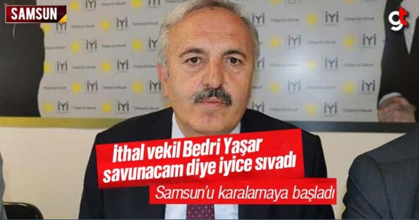 Bedri Yaşar, Samsun'u savunacaktı, karalamaya başladı