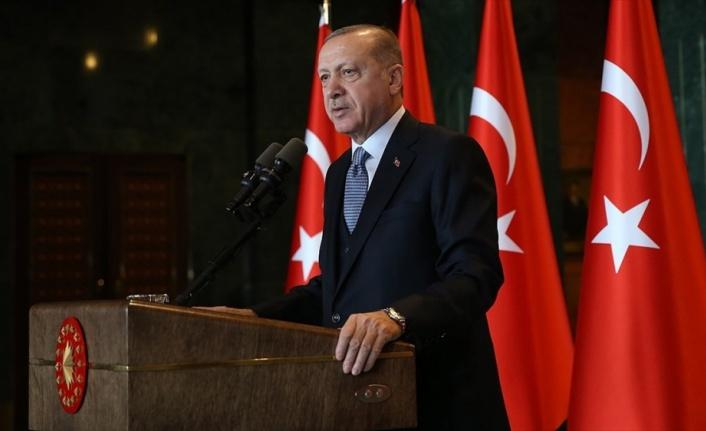 Cumhurbaşkanı Erdoğan: Tarihimizin zaferler halkasına bir yenisini ekleyeceğiz