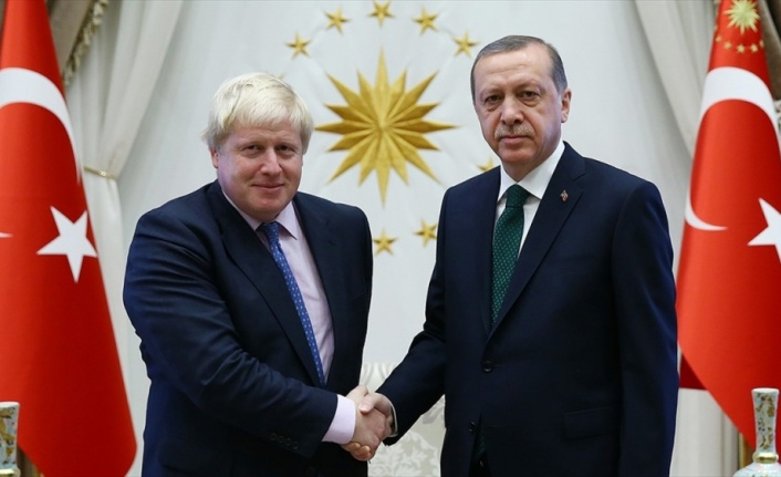 Cumhurbaşkanı Erdoğan'dan Boris Johnson'a tebrik telefonu