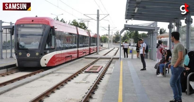 Kurban bayramında Samsun'da tramvay ve otobüsler ücretsiz