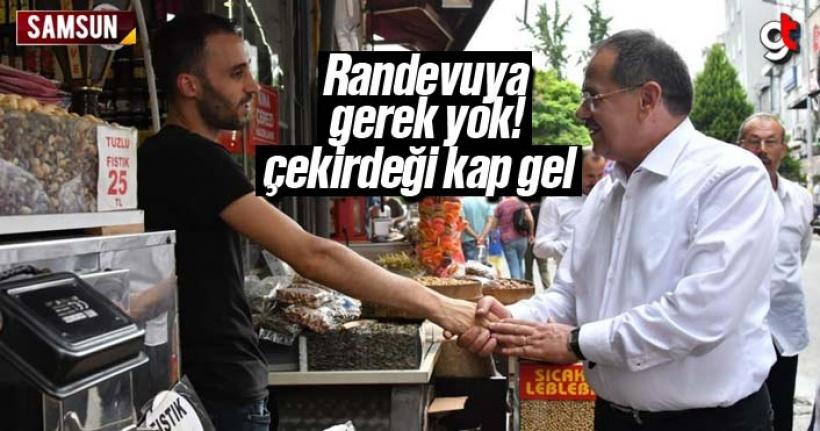 Mustafa Demir, 'Benimle görüşmek için randevuya gerek yok'