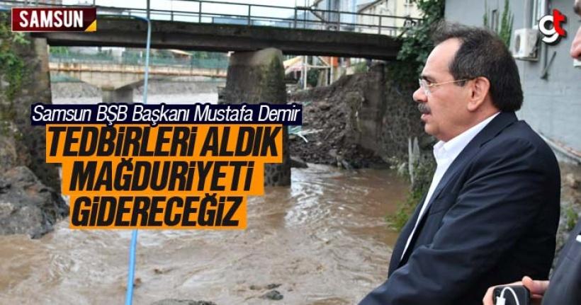 Mustafa Demir; 'Tedbirlerimizi aldık mağduriyeti gidereceğiz'