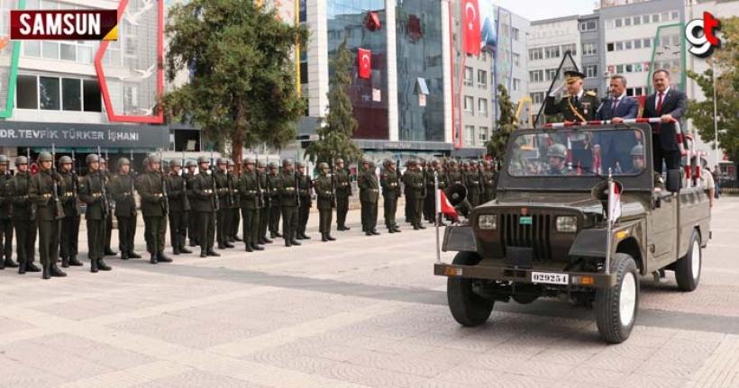 Samsun Cumhuriyet Meydanı'nda 30 Ağustos Zafer Bayramı Kutlamaları