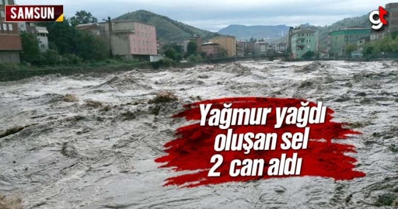 Samsun Salıpazarı'nda selde 2 kişi öldü