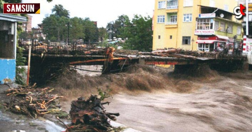 Sel felaketi bölgesinde tek bir makine yok, çalışanda yok!