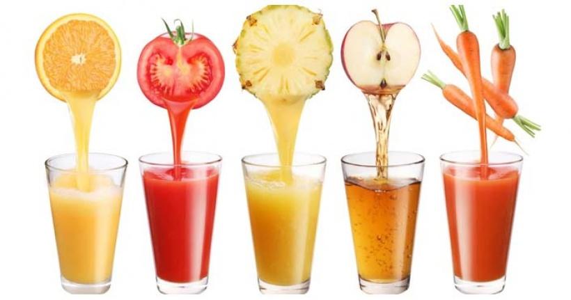 Taze sıkılmış meyve suyunun faydaları