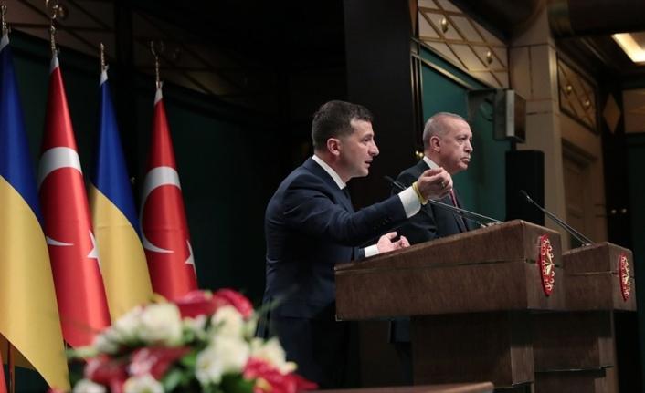 Ukrayna Devlet Başkanı Zelenskiy: Türk iş dünyasını Ukrayna'ya davet ediyorum