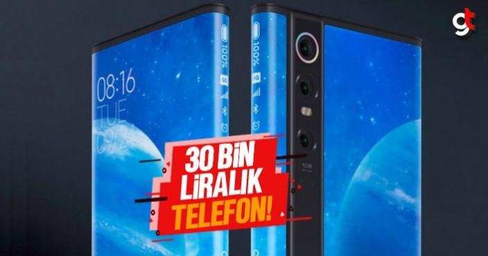 30 Bin liralık telefon