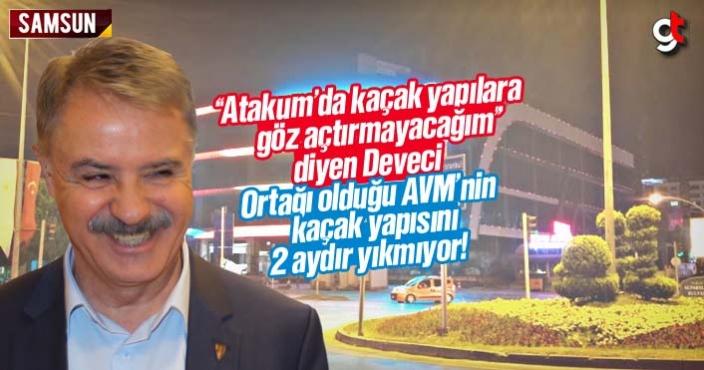 Atakum Belediyesi City Mall AVM'nin kaçak yapısını neden yıkmıyor?