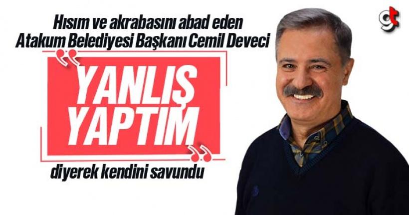 CHP'li Başkan Cemil Deveci'nin yeğeni şirket müdürü oldu, Deveci yanlış yaptım dedi