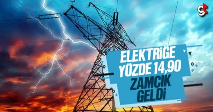 Elektriğe yüzde 14,90 zamcık geldi