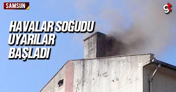 Samsun'da havalar soğudu uyarılar başladı