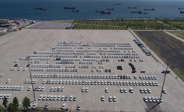 Yenikapı'da ihtiyaç fazlası olduğu iddiasıyla sergilenen araç sayısı belli oldu