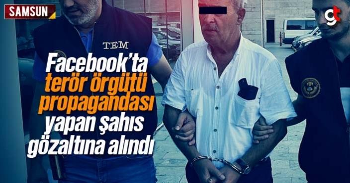 Facebook'ta terör örgütü propagandası yapan şahıs gözaltına alındı