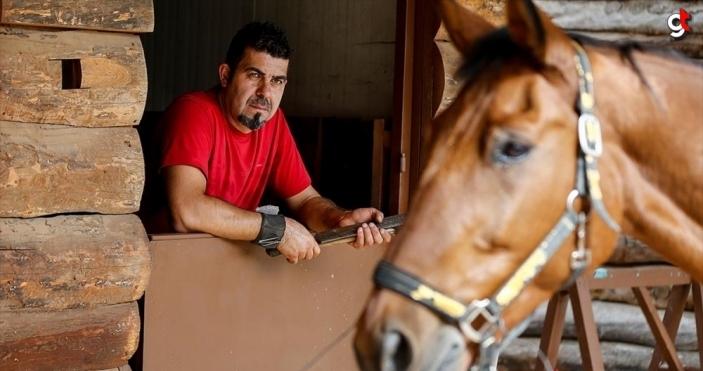 Milyonluk atların nalları Mustafa ustaya emanet