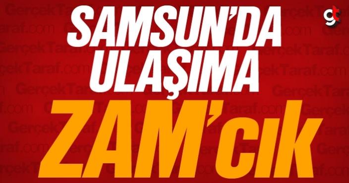 Samsun'da otobüs ve tramvay ücretleri zam geldi
