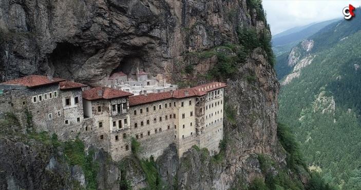 Sümela Manastırı'nı 4 ayda 220 bin kişi ziyaret etti