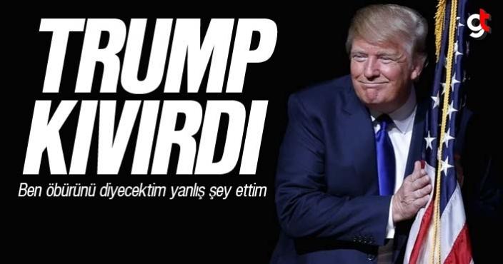 Trump yine kıvırdı, Bağdadi'yi değil Muhacir'i demiş