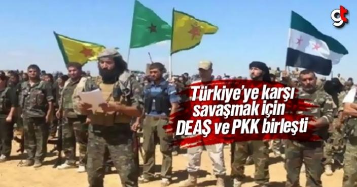 Türkiye'ye karşı savaşmak için terör örgütleri DEAŞ ve PKK birleşti