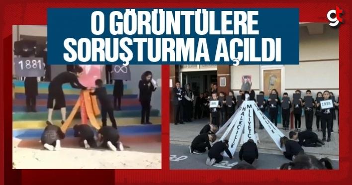 10 Kasım'da öğrencilere Atatürk'e secde ettirdiler, soruşturma açıldı