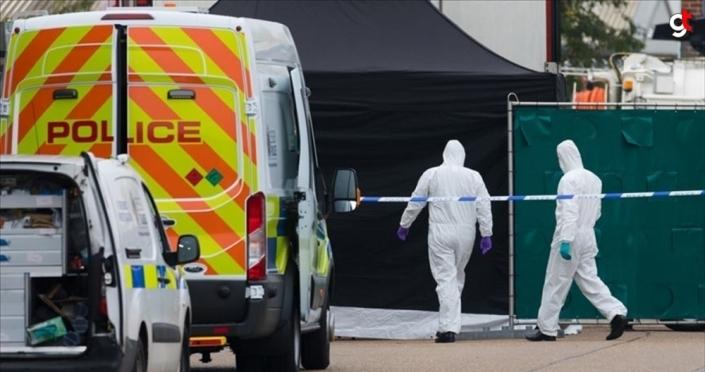 İngiltere'de tırın arkasında ölü bulunan 39 kişiden ikisi 15 yaşında