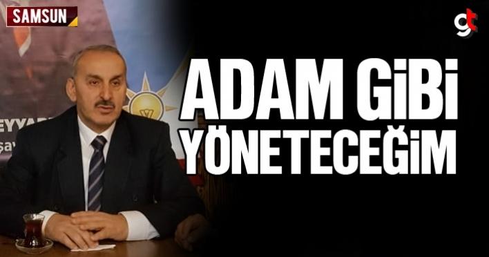 Mehmet Teyyare, 'Adam gibi başkanlık yapacağım'