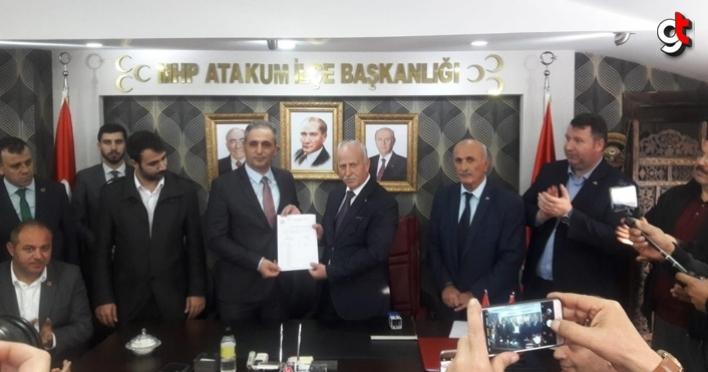 MHP'de İlkadım, Atakum ve Canik ilçe başkanları göreve başladı