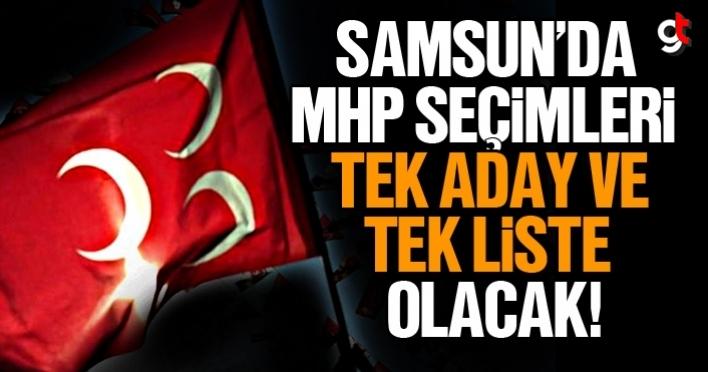 MHP Samsun İl Başkanlığı seçimine tek aday ile gidecek