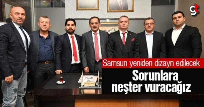 Mustafa Demir, 'Samsun'da sorunlara neşter vuracağız'