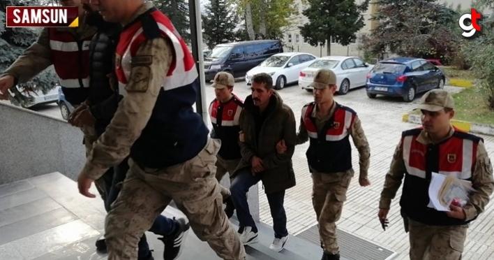 Samsun'da buğday hırsızlığı şüphelisi 2 kişi tutuklandı