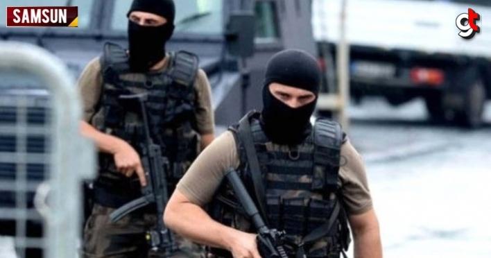 Samsun'da operasyon'un düğmesine basıldı, 18 kişi aranıyor