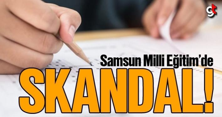 Samsun Milli Eğitim'de skandal! Ortaokul sınav sorularını çaldılar
