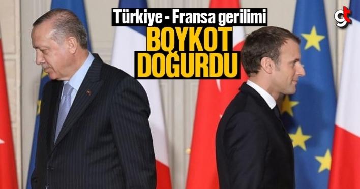 Türkiye Fransa gerilimi sonrası, ürünler boykot edilecek, Fransa malları boykot