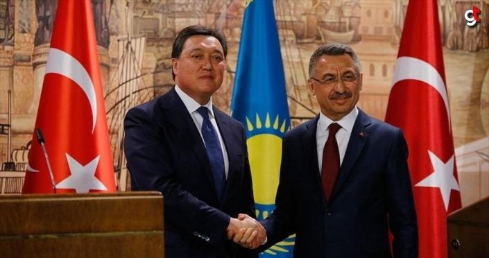 'Türkiye ile Kazakistan arasında 1,4 milyar dolarlık 19 sözleşme imzalandı'