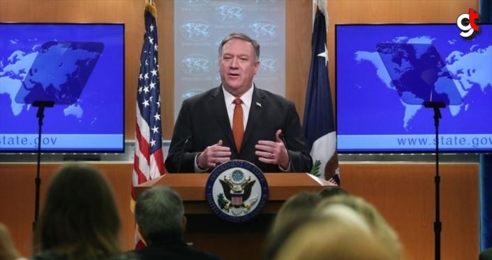 ABD Dışişleri Bakanı Pompeo Kıbrıs'a gidecek