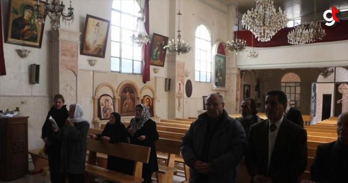 Barış Pınarı Harekatı ile terörden temizlenen Rasulayn'da Noel kutlandı