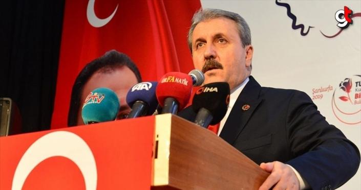 BBP Genel Başkanı Destici'den Libya tezkeresine destek