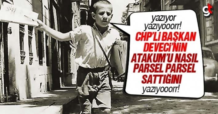 CHP'li Başkan Deveci, Atakum'u parsel parsel satıyor