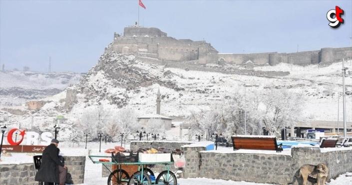 Doğu Anadolu kar beyazı