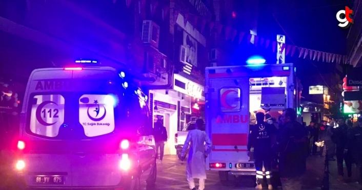 Düğünde maytap dumanından etkilenen 20 kişi hastaneye kaldırıldı